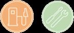 fuel service icon
