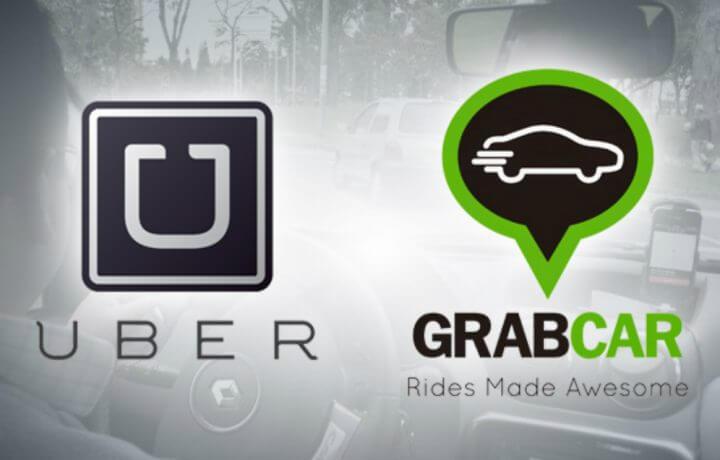 grabcar dan uber